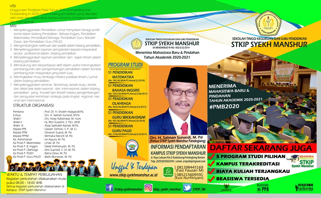 brosur stkipsm 2020-2021